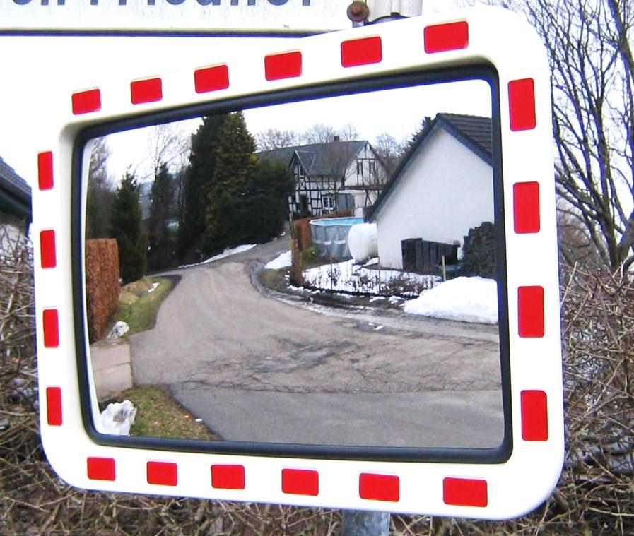 Verkehrsspiegel sicherheitsspiegel spiegel ausfahrt for Spiegel 60x40