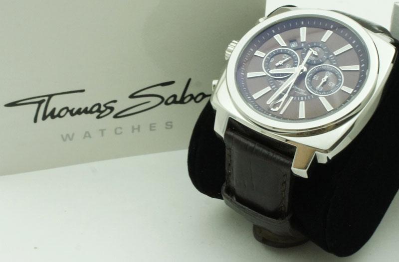 thomas sabo wa0083 herren armbanduhr watch quarz edelstahl. Black Bedroom Furniture Sets. Home Design Ideas
